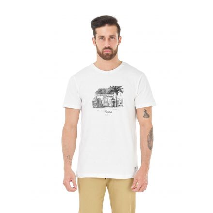 Picture Organic T-Shirt Surf Club White