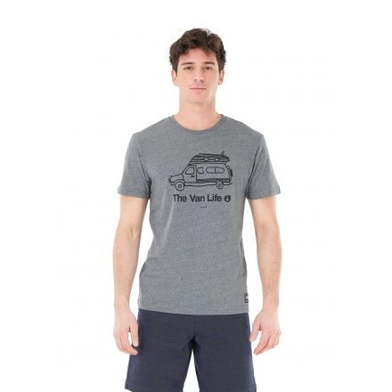 Picture Organic T-Shirt Van Life Dark Grey