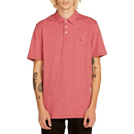 Volcom Polo Wowzer Burgundy