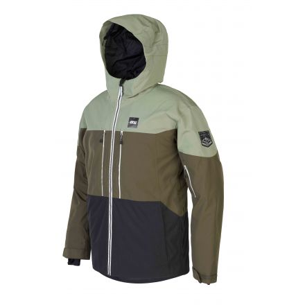 Picture Object Jacket Dark Army Green