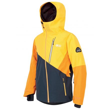 Picture Alpin Jacket Dark Blue Yellow
