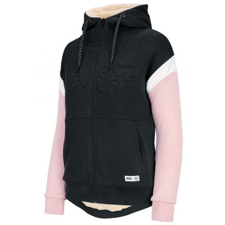 Picture Basement Hoody Zip Black