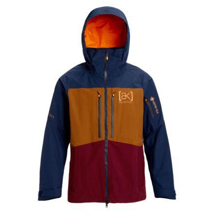 Burton AK Gore Swash Jacket Dress Blue Monks Robe Port Royal