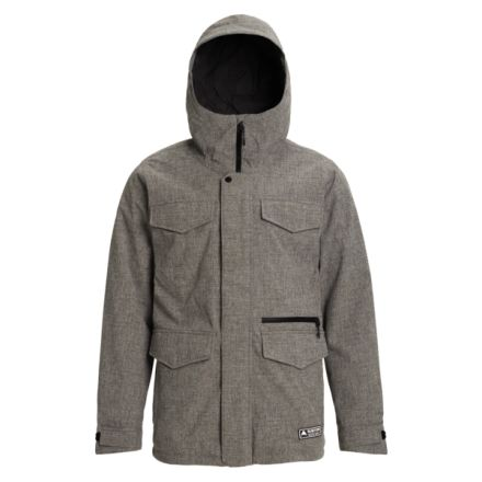 Burton Covert Jacket Bog Heather