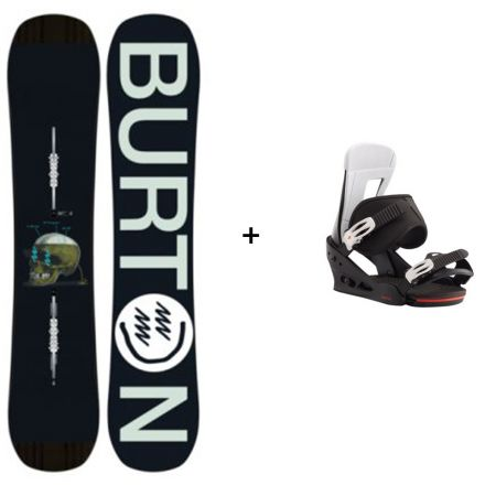 Snowboard Burton Instigator + Fixation Burton Freestyle