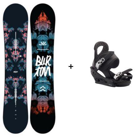 Snowboard Burton Stylus + Fixation Burton Citizen