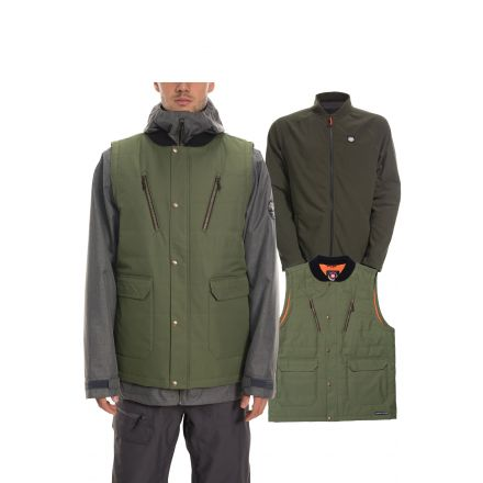686 Smarty 4-in-1 Complete Jacket Surplus Green