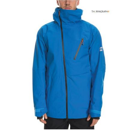 686 GLCR Hydra Thermagraph Jacket Strata Blue
