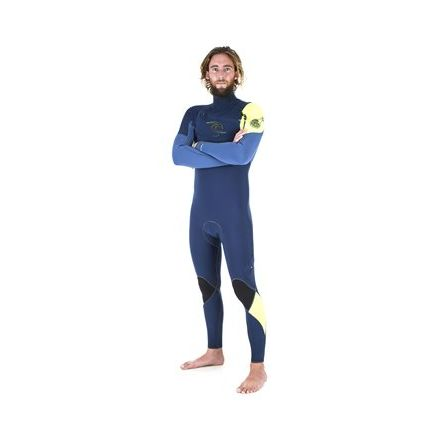 Rip Curl E Bomb 4/3 Chest Zip Navy 2017