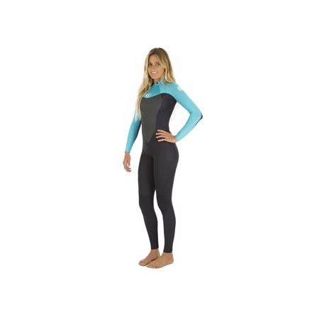 Rip Curl Omega 5/3 Back Zip Turquoise 2017