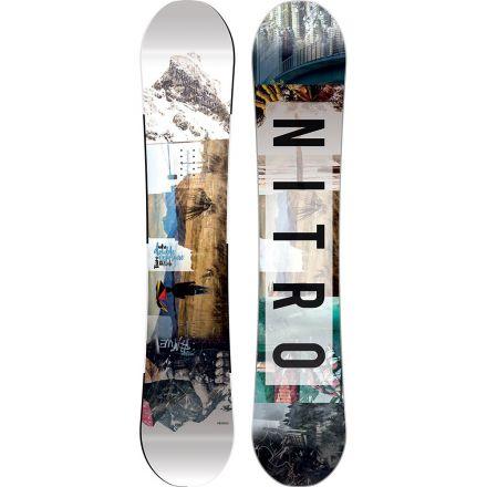 Nitro snowboard Team Explosure 2017