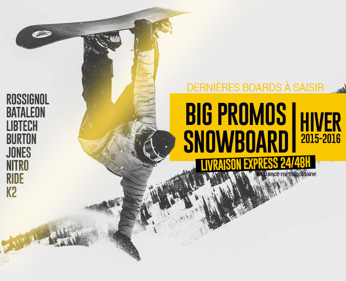 Promotions snowboard 2016