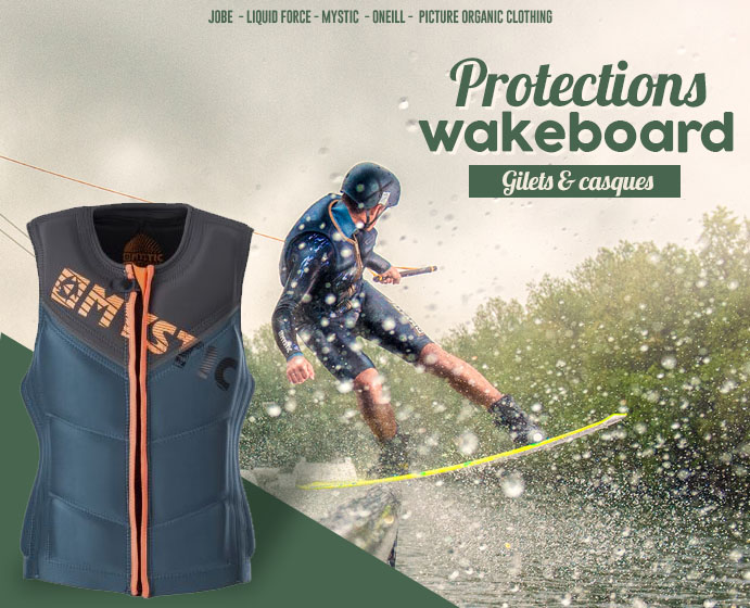 Protections wakeboard