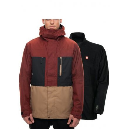 686 Smarty Form Jacket Rusty Red