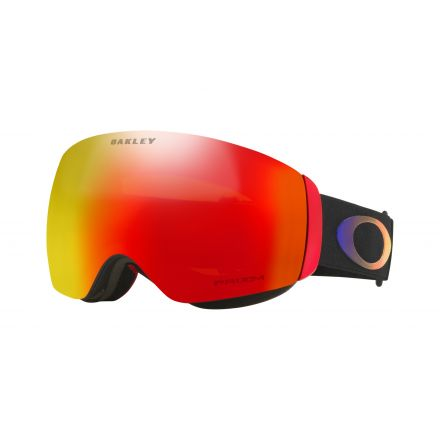 Masque de snow Oakley Flight Deck Halo Prizm Torch iridium