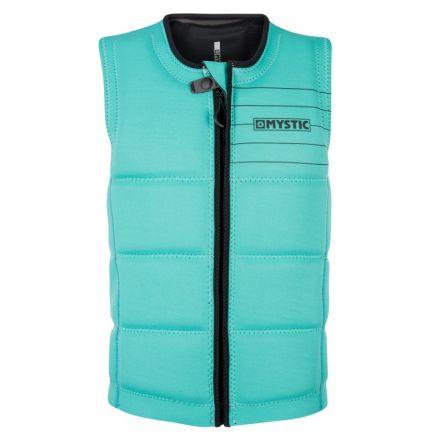 Mystic Brand Impact Vest Front Zip Wake Mint