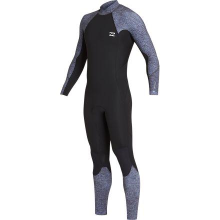Billabong Absolute BZ Full Suit Flatlock Grey