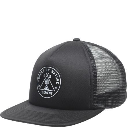 Element Camp Trucker Cap Flint Black