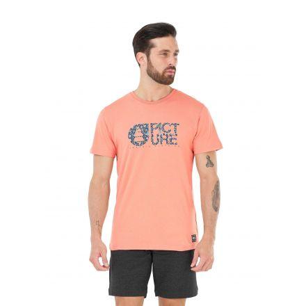 Picture Organic T-Shirt Basement Mucha Peach