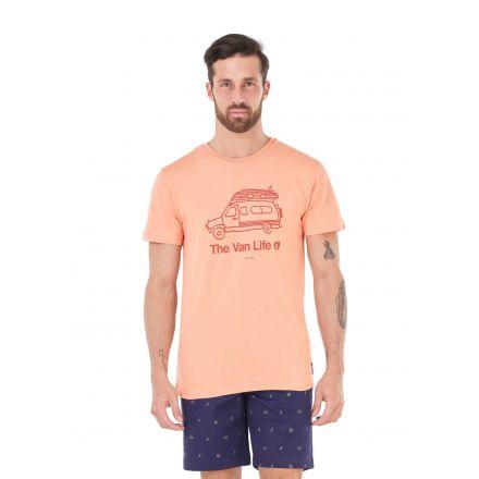 Picture Organic T-Shirt Van Life Peach