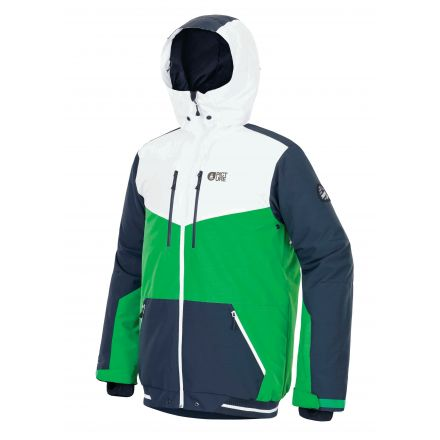 Picture Panel Jacket Green