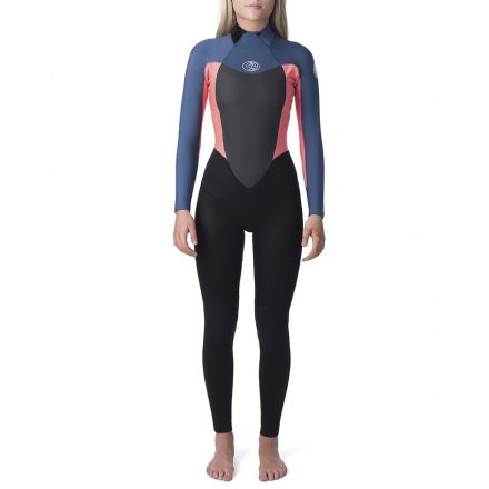 Rip Curl Omega Back Zip 5/3 Neon Pink