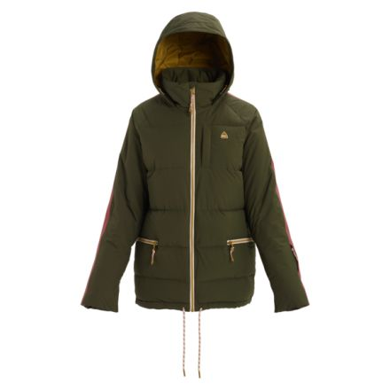 Burton Keelan Jacket Forest Night Rose Brown