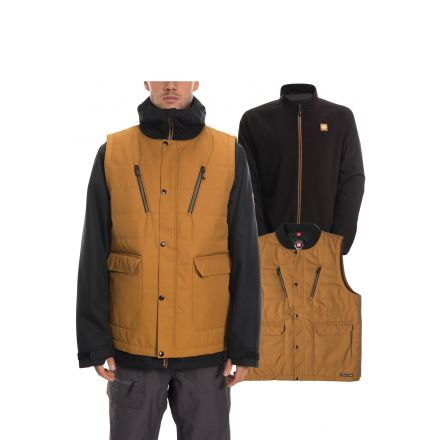 686 Smarty 4-in-1 Complete Jacket Golden Brown