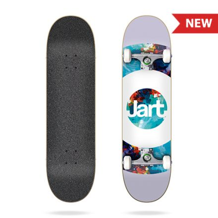 Skateboard Jart Complete Abstract 7.6'
