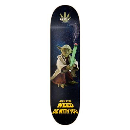 Skateboard Jart Deck Weed Nation Yoda 8.0'