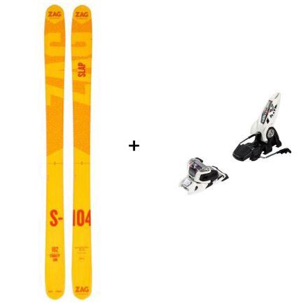 Ski Zag Slap 104 + Marker Griffon