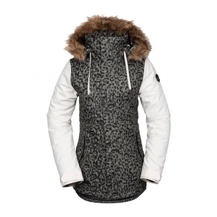 Volcom Fawn Ins Jacket Leopard