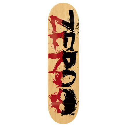 Skateboard Deck Zero PP 2-TOne Blood Red Black 8.25'