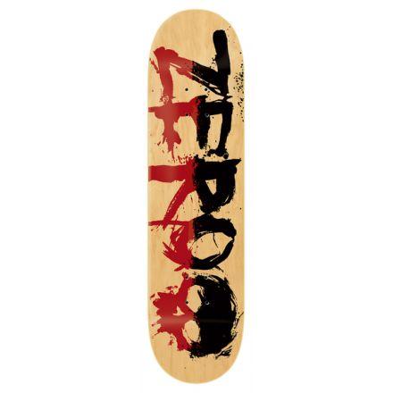 Skateboard Deck Zero PP 2-TOne Blood Red Black 8.25'