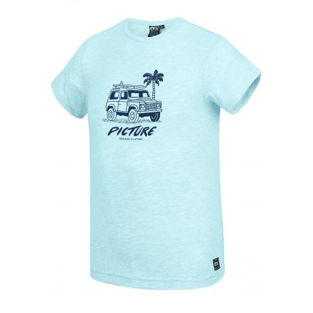 Picture T-Shirt Anglet Pale Blue Melange