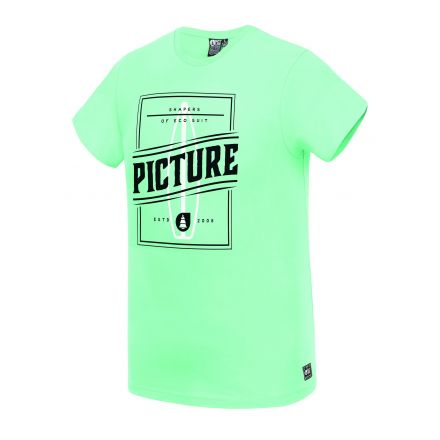 Picture T-Shirt Byron Gum Green