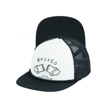 Casquette Picture Broke Trucker Black