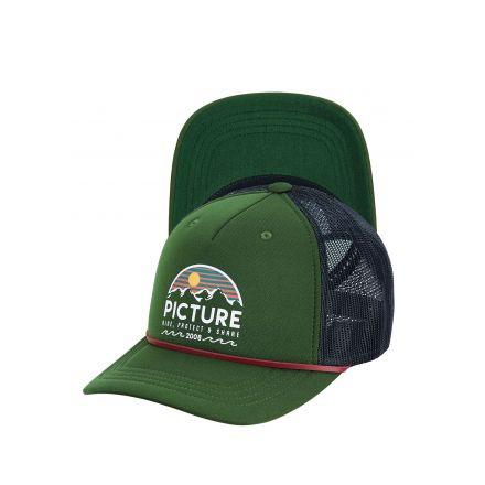 Casquette Picture Kuldo Trucker Pine Green