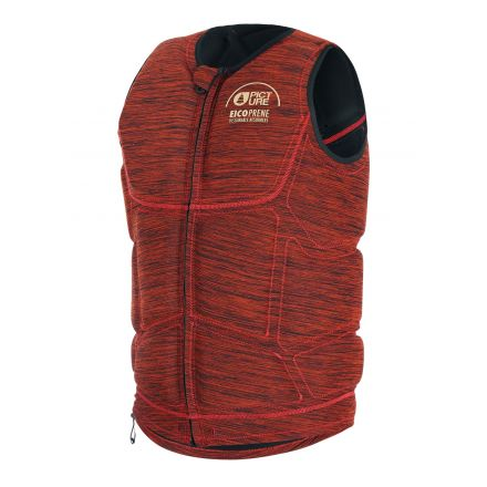 Picture Dony Impact Vest Zip Red Earth