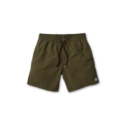 Volcom Boardshort Lido Solid Trunk 16' Military
