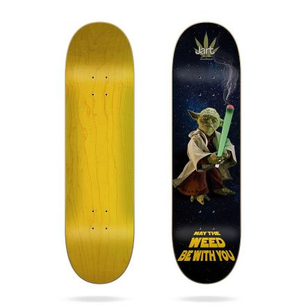 Skateboard Jart Deck Weed Nation 'Yoda' 8.375' x 31.85'