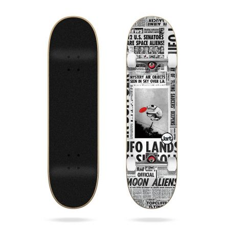 Skateboard Jart Complete Flying Saucers 8.25' x 31.85'