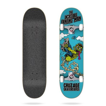 Skateboard Jart Complete The Incredible Farting Man 8.125' x 31.85'