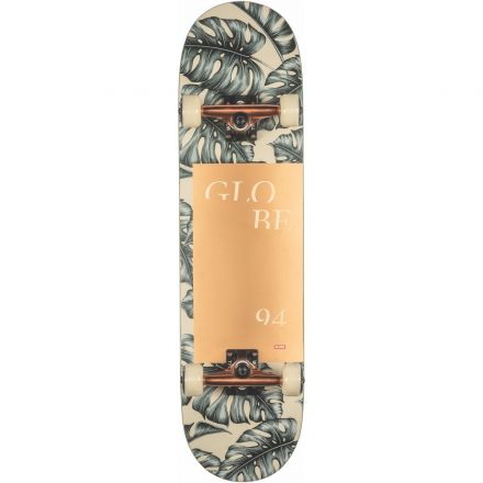 Skateboard Globe Complete G2 Mod Log 8.25 Hurricane Leaves