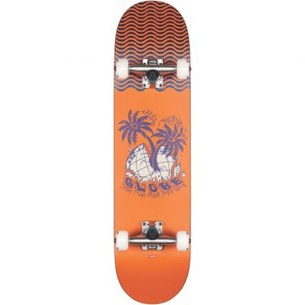 Skateboard Globe Complete G1 Overgrown 7.875 Orange