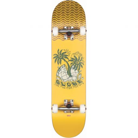 Skateboard Globe Complete G1 Overgrown 7.75 Yellow