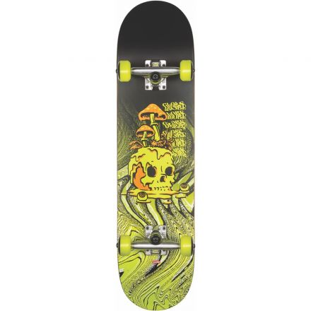 Skateboard Globe Complete G1 Nature Walk 8.125 Black Toxic Yellow
