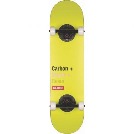 Skateboard Globe Complete G3 Bar 8.0 Impact Toxic yellow