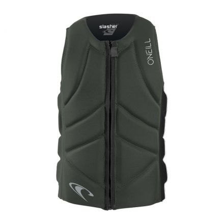 O'neill Slasher Comp Vest Dark Olive Black