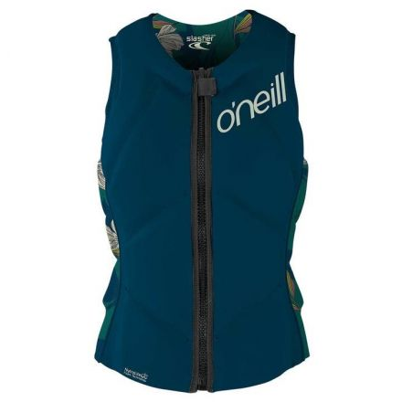 O'neill Wms Slasher Comp Vest French Navy Bridget